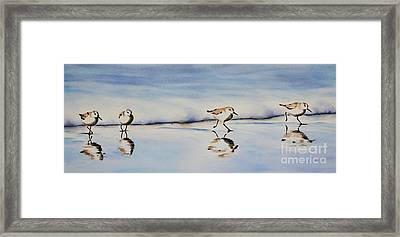 Beach Babies Framed Print