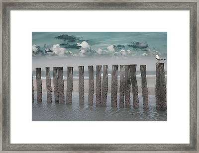 Beach Bars Framed Print