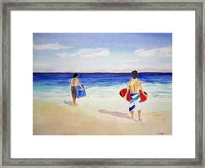 Beach Boys Australia Framed Print
