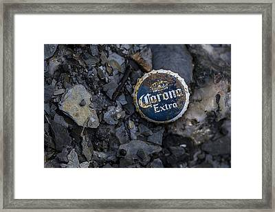 Beach Bum Framed Print by Andrew Pacheco