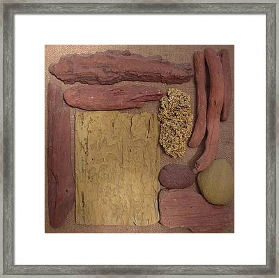 Beach Collectables Framed Print by Peter-hugo Mcclure