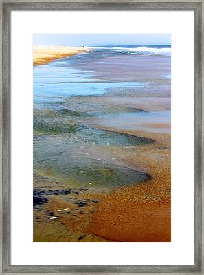 Beach Colors Framed Print