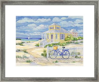 Beach Cruiser Framed Print by Paul Brent