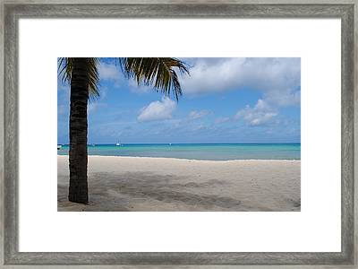 Beach Day Framed Print by Robert  Moss