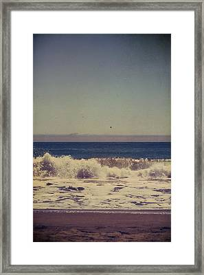 Beach Days Framed Print by Laurie Search