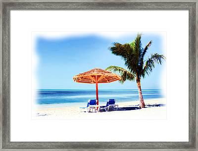 Beach Dreams 1 Framed Print