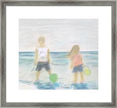 Beach Dreams Framed Print by E Carrington