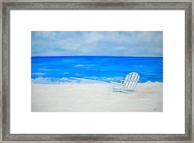 Beach Escape Framed Print by Debi Starr