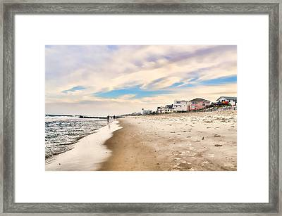 Beach Haven Framed Print by Diana Angstadt