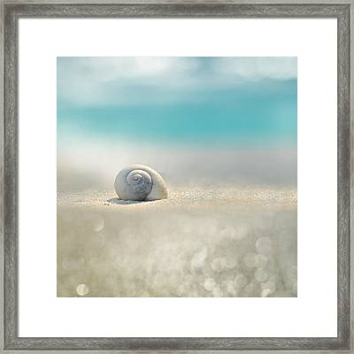 Beach House Framed Print by Laura Fasulo