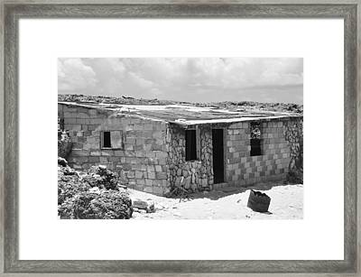 Beach House  Framed Print by Sabrina  Hall