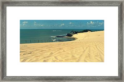 Beach In Brazil Framed Print by Robert Rivera