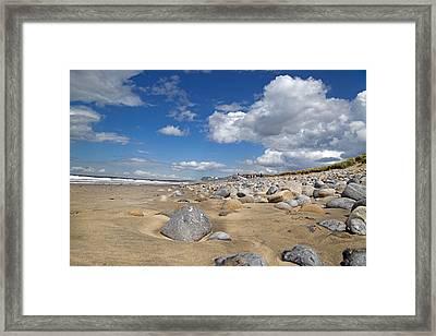 Beach -- Sligo -- Ireland Framed Print