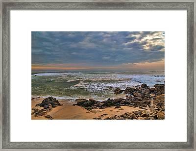 Beach Landscape Framed Print