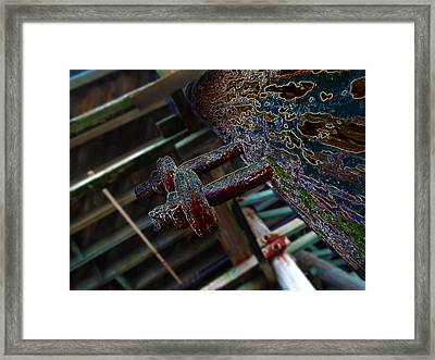 Beach Less Seen     Beach Less Known V3 Framed Print by Kenneth James