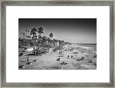 Beach Life From Yesteryear Framed Print by John Wadleigh