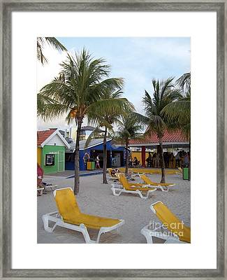 Beach Life Framed Print by Michael Madlem