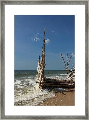 Beach Magic Framed Print