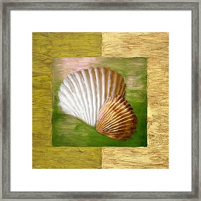 Beach Memoirs Framed Print