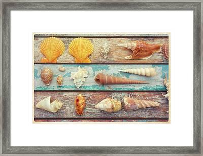Beach Memories II Framed Print