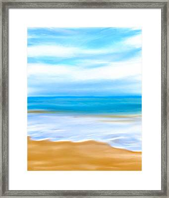 Beach Memories Framed Print by Mark E Tisdale