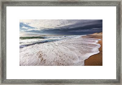 Beach Morning Framed Print by Bill Wakeley