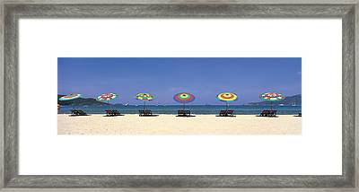 Beach Phuket Thailand Framed Print by Panoramic Images