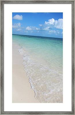 Beach Playa Mujeres Framed Print