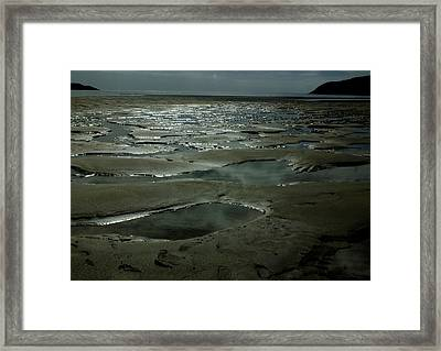 Beach Pools Framed Print
