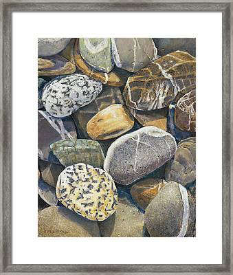 A Choir Of Stones Framed Print