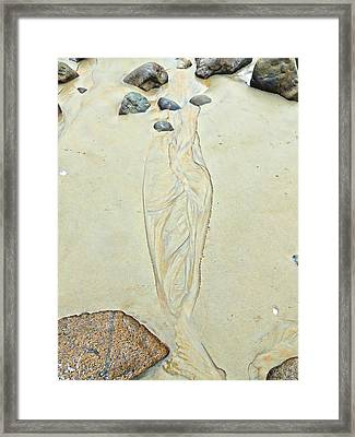 Beach Sand #4  Sold 3 Framed Print