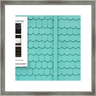 Beach Shack Framed Print by Art Block Collections