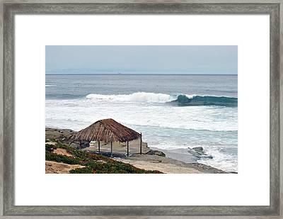 Beach Shack Framed Print