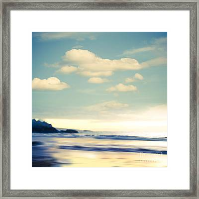 Beach Framed Print by Sharon Mau
