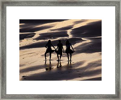 Beach Show  Framed Print