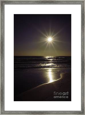 Beach Sun 2 Framed Print