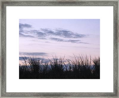 Framed Print featuring the photograph Beach Sunrise 1 by Melissa Stoudt