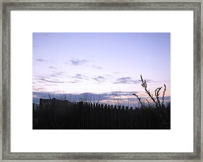 Framed Print featuring the photograph Beach Sunrise 2 by Melissa Stoudt