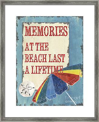 Beach Time 3 Framed Print