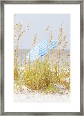 Beach Time Framed Print