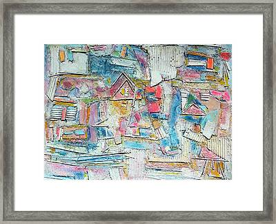 Beach Town Framed Print by Hari Thomas