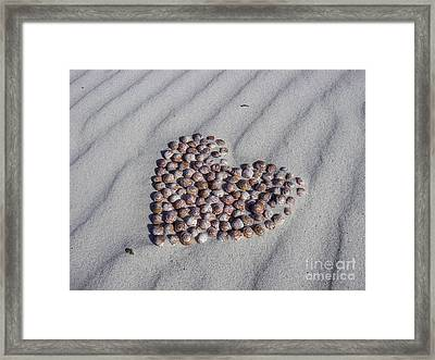 Beach Treasure Framed Print by Jola Martysz