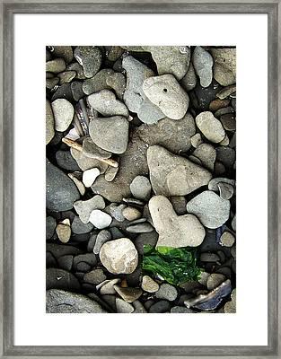 Beach Valentine Framed Print