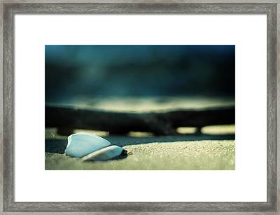 Beach Zen Framed Print