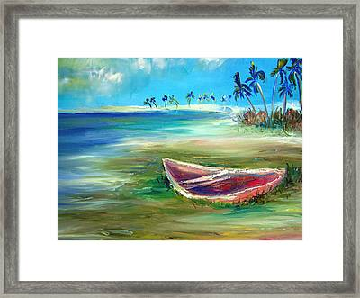 Beached Framed Print by Patricia Taylor