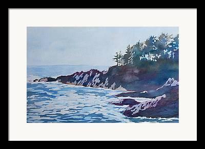 Beachhead Framed Prints