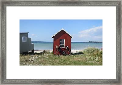 Beachhouse3 Framed Print
