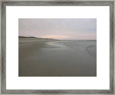Beachscape Framed Print
