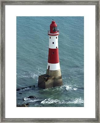 Beachy Head Lighthouse Framed Print