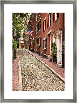 Beacon Hill Framed Print